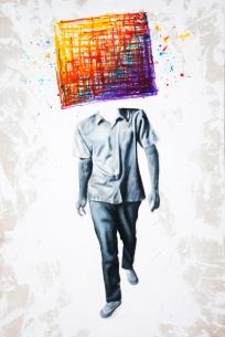 Trailblazer, 2011   Acrylic on canvas