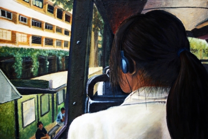 Internal / External II, 2011 | Mixed Media on Canvas