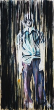 The Artist, 2011   Mixed Media on Canvas