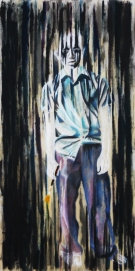 The Artist, 2011 | Mixed Media on Canvas