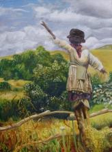 Scarecrow, 2013 | Oil on canvas