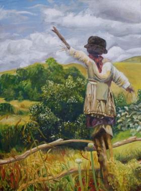 Scarecrow, 2013   Oil on canvas