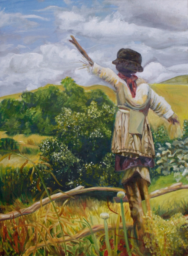 Scarecrow, 2013 | Oil on canvas