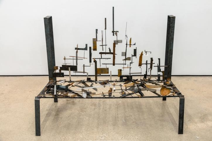 Gethsemane, 2015 | Welded steel and scrap metal