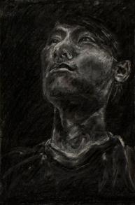 Portrait of Joseph | Charcoal on paper