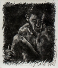 Subtractive #3   Charcoal on paper