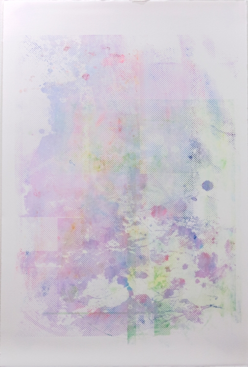 Triadic Revisitations, 2015 | Screenprint on paper